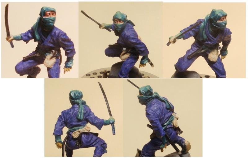 Ninja - 54mm (Metal Tin Toys) Fig-0710