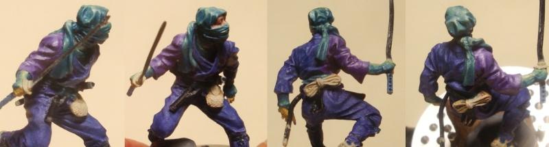 Ninja - 54mm (Metal Tin Toys) Fig-1210