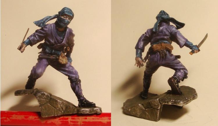 Ninja - 54mm (Metal Tin Toys) Fig-1310