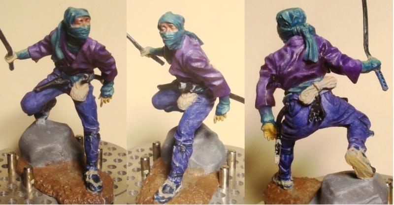Ninja - 54mm (Metal Tin Toys) Fig-1410