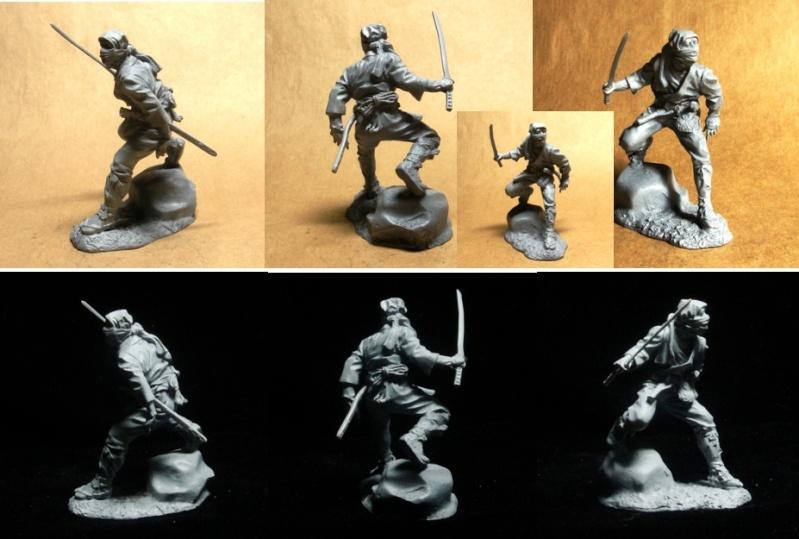 Ninja - 54mm (Metal Tin Toys) Fig_0210