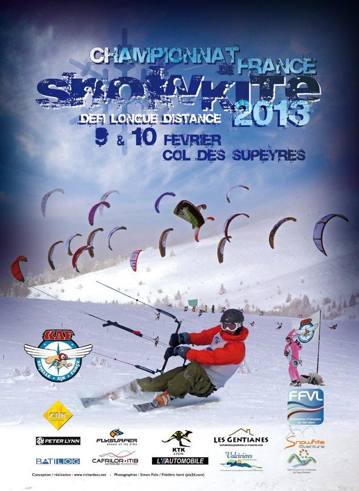 Championnat de France de snowkite : CFSK 2013 aux Supeyres 47639_10