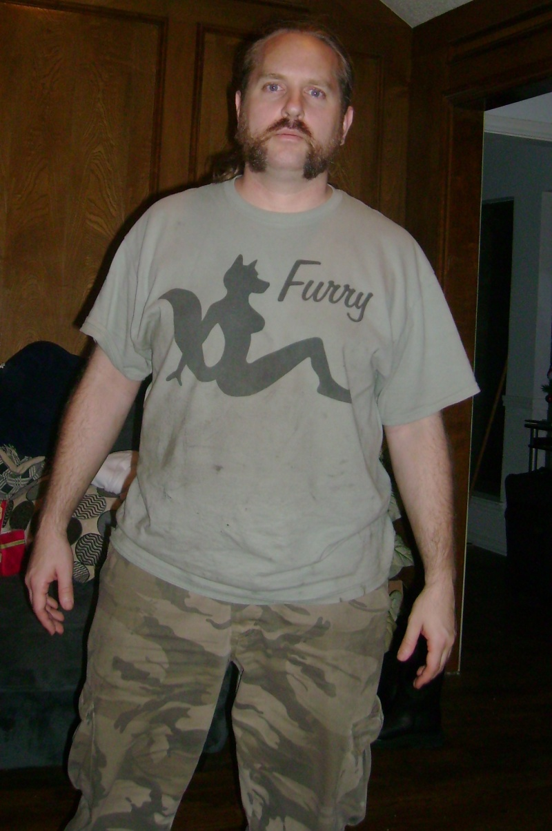 What T-shirt are you wearing today (and Why?) Furry10