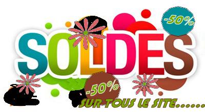 -50 % SUR TOUTE LA BOUTIQUE .....UNIQUEMENT CE WEEK END Soldes17