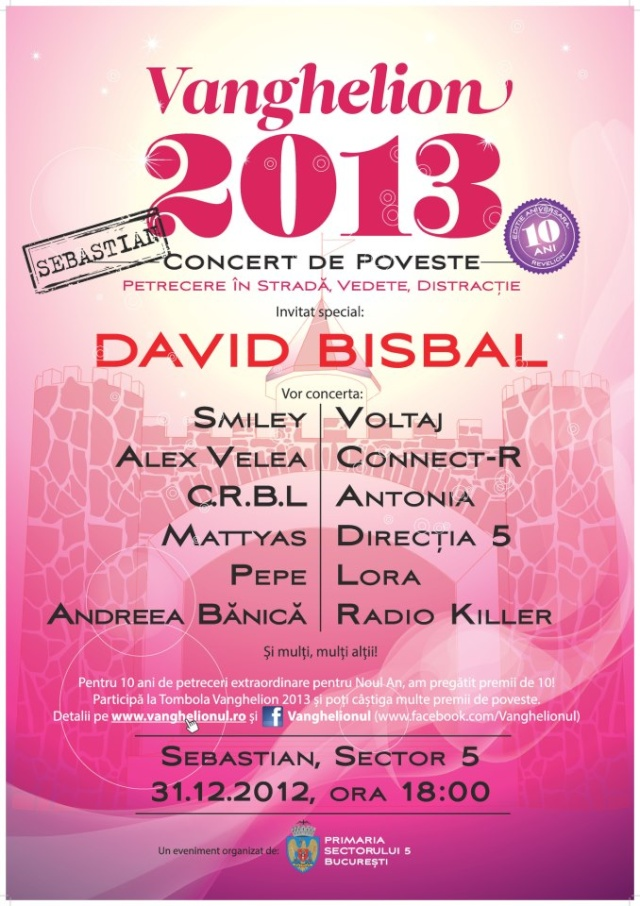 David Bisbal de Revelion in Bucuresti 74786_10
