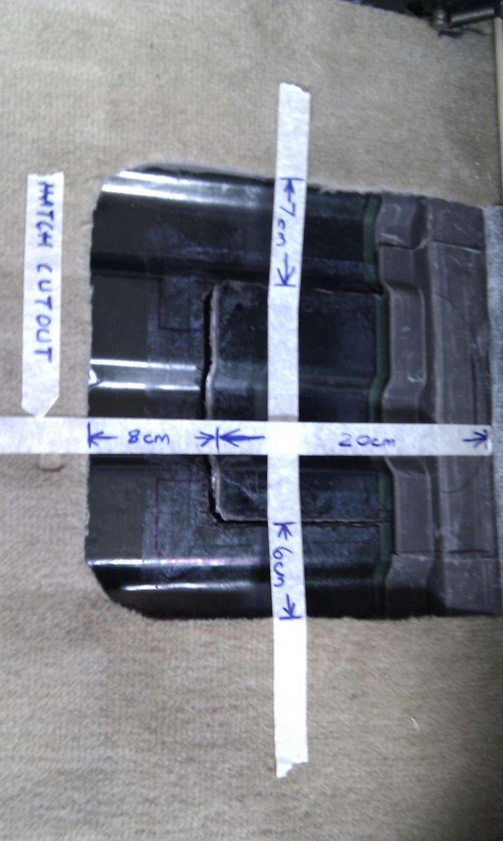 tuto decoupe plancher pour remplacement pompe de gavage  Imag0014