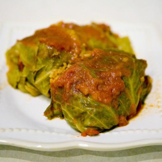Polish Golumpki (Stuffed Cabbage) Recipe 74748810