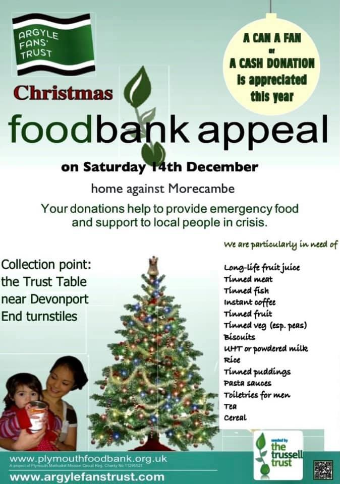 This year Food Bank collection Food_10