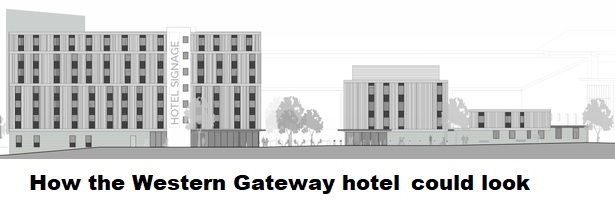 Hotel to be built on the vets land near Home Park H11