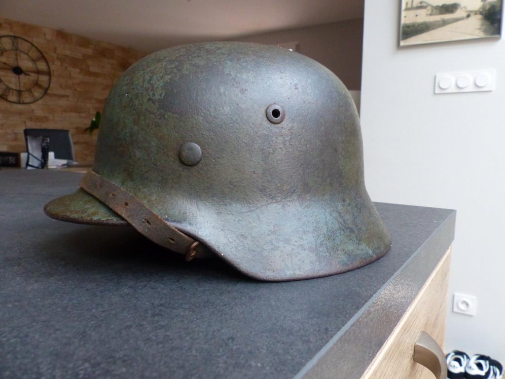 casque allemand  m35 identification  P1030611