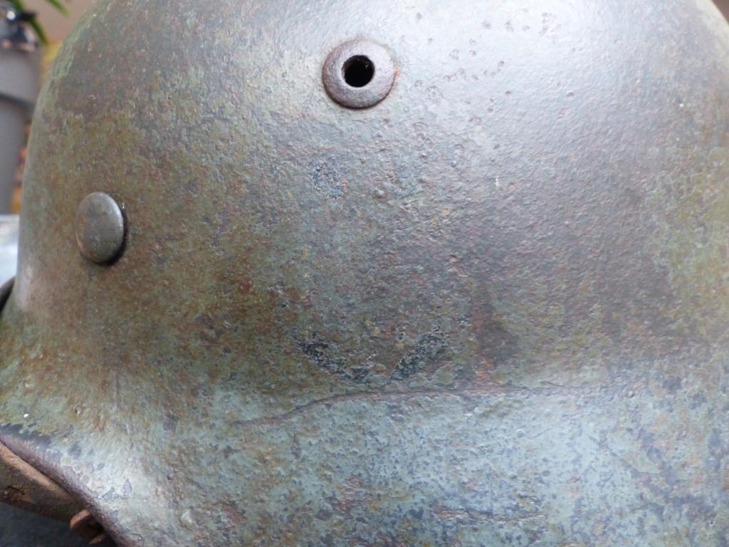 casque allemand  m35 identification  P1030612