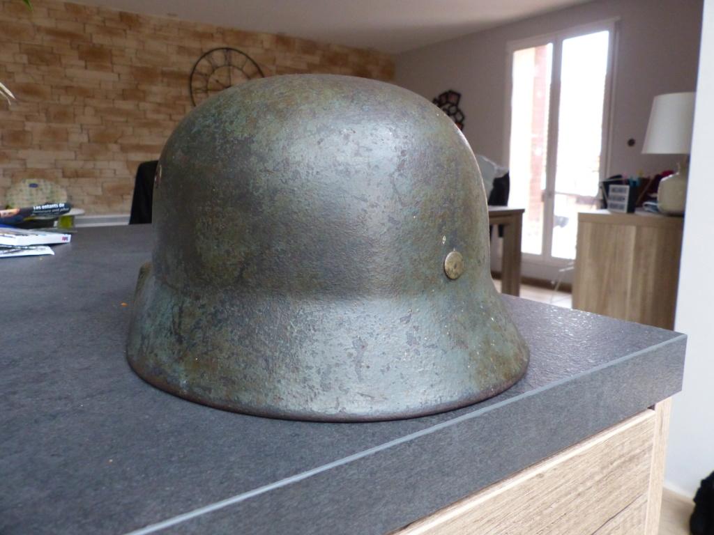 casque allemand  m35 identification  P1030614