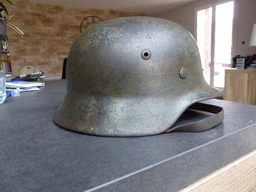 casque allemand  m35 identification  P1030615