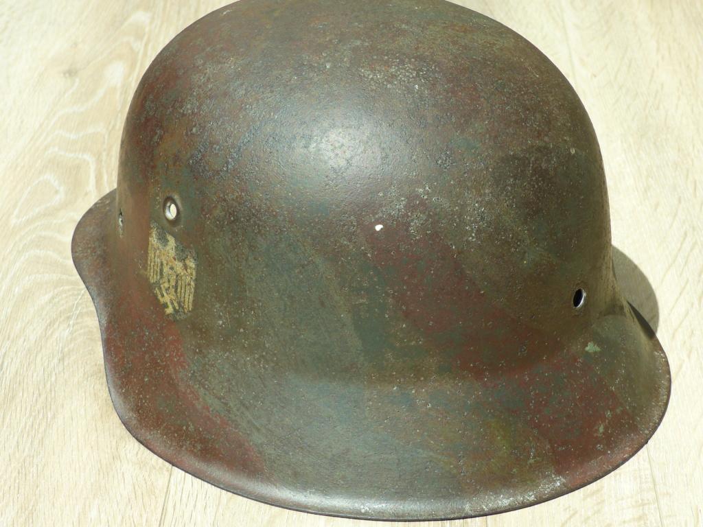 coque de casque  M42 heer  P1040060