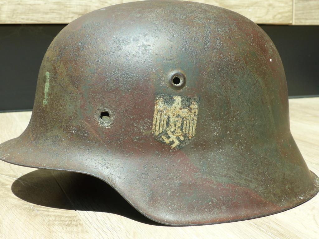 coque de casque  M42 heer  P1040066
