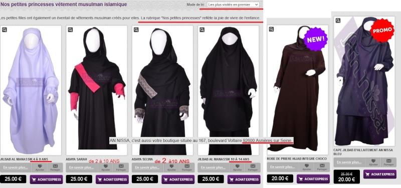 VOILE islamique, signes religieux : ce qui est interdit en France Hidjab10