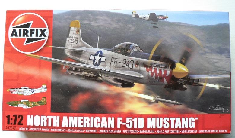 [ Airfix - Tamiya ] P-51 D Mustang 0-111