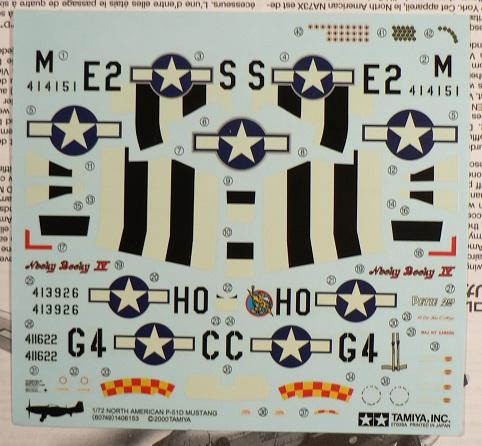 [ Airfix - Tamiya ] P-51 D Mustang 0-1111