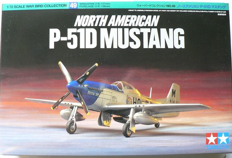 [ Airfix - Tamiya ] P-51 D Mustang 0-112