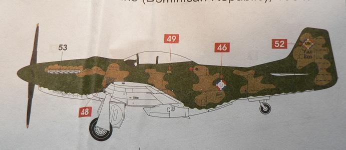 [ Airfix - Tamiya ] P-51 D Mustang 0-1310