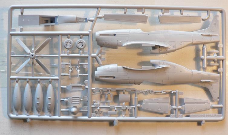 [ Airfix - Tamiya ] P-51 D Mustang 0-510