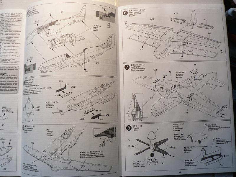 [ Airfix - Tamiya ] P-51 D Mustang 0-711