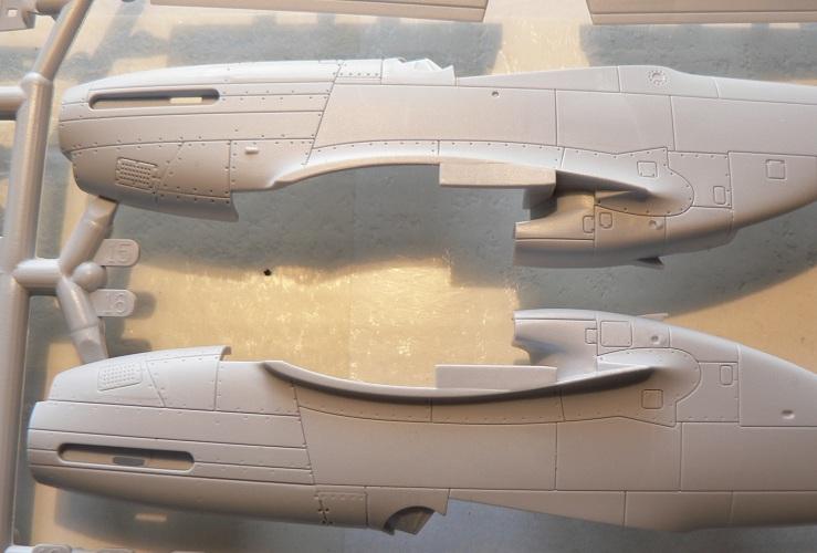 [ Airfix - Tamiya ] P-51 D Mustang 0-810