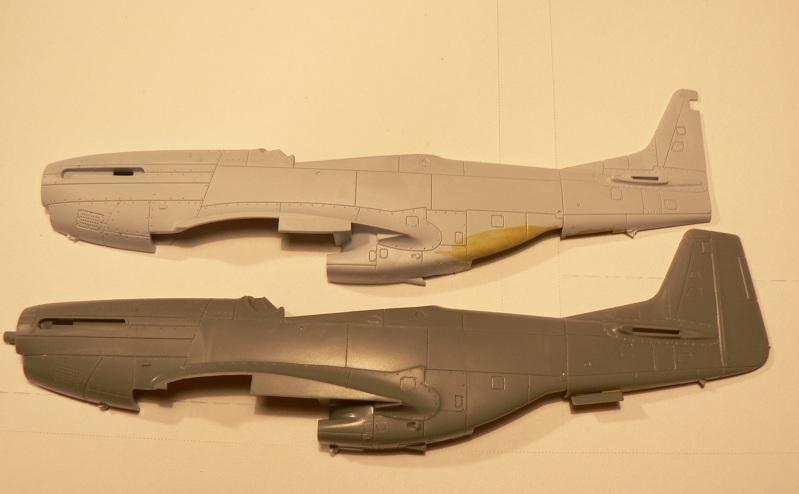 [ Airfix - Tamiya ] P-51 D Mustang 2-114