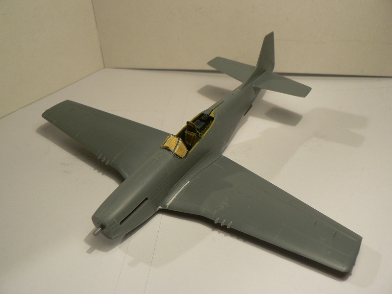 [ Airfix - Tamiya ] P-51 D Mustang 2-412