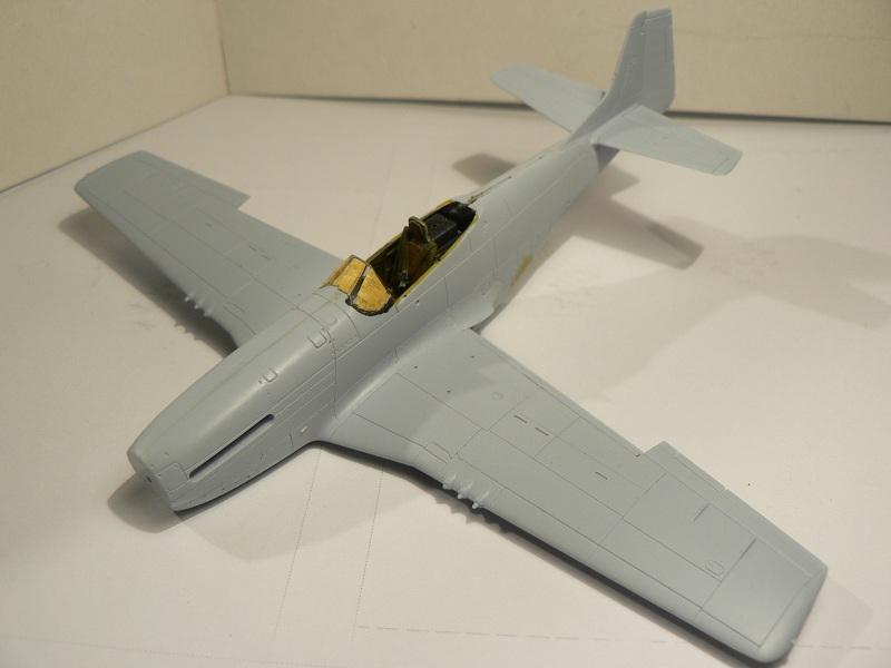 [ Airfix - Tamiya ] P-51 D Mustang 2-611