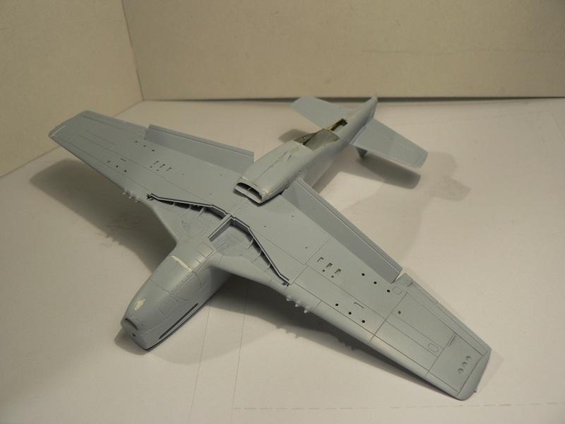 [ Airfix - Tamiya ] P-51 D Mustang 2-710