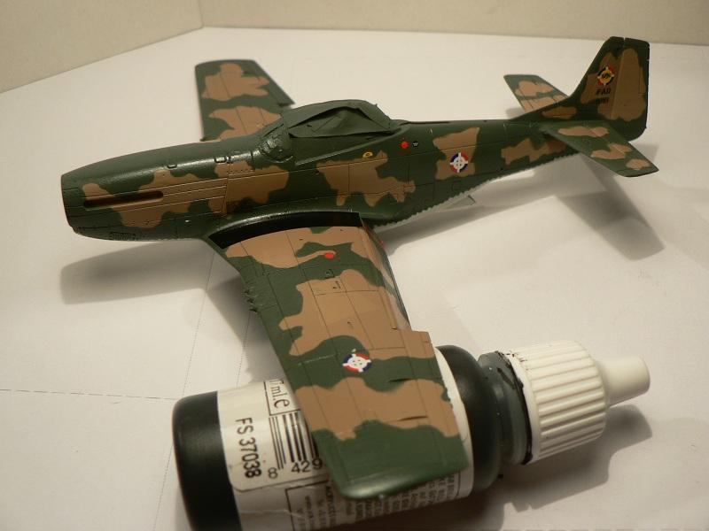[ Airfix - Tamiya ] P-51 D Mustang 3-112