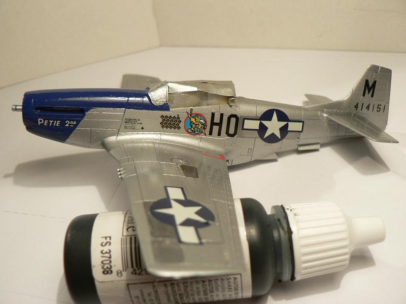 [ Airfix - Tamiya ] P-51 D Mustang 3-113