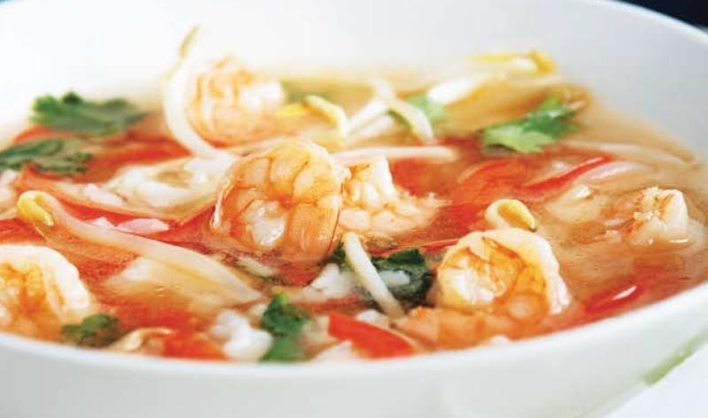 Soupe thaï aux crevettes et au riz Sans_t17