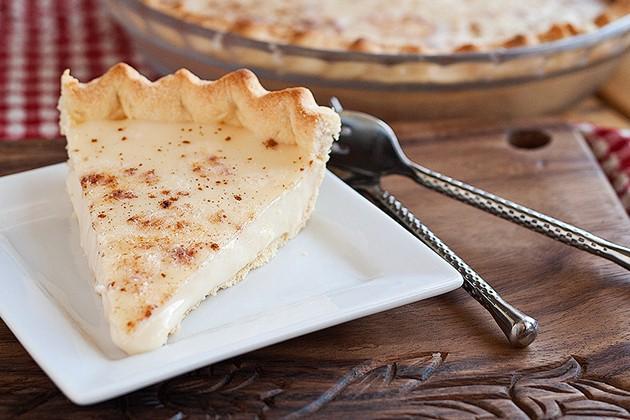 Tarte à la crème style blanc-manger Tk-blo10