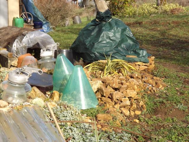 Protections hivernales ou jardin fantomatique Protec10