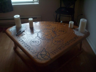 "Мастер-класс "". Ритуальная магия"" (Занятие №2) Altar_10"