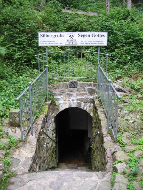 Ancienne mine D'argent <<Segen gottes>>Forêt noire 10311