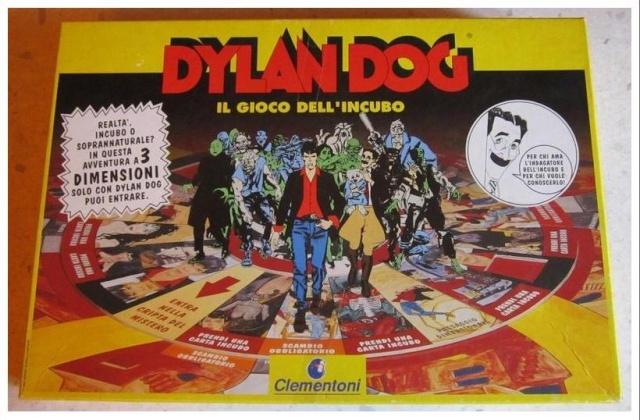 VENDO / SCAMBIO gioco in scatola DYLAN DOG !!! 110