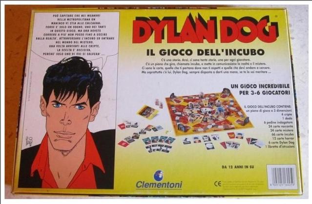 VENDO / SCAMBIO gioco in scatola DYLAN DOG !!! 210