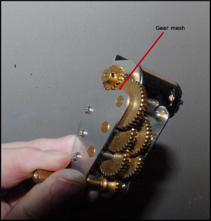 Mato 3:1 gear set Mato_g10