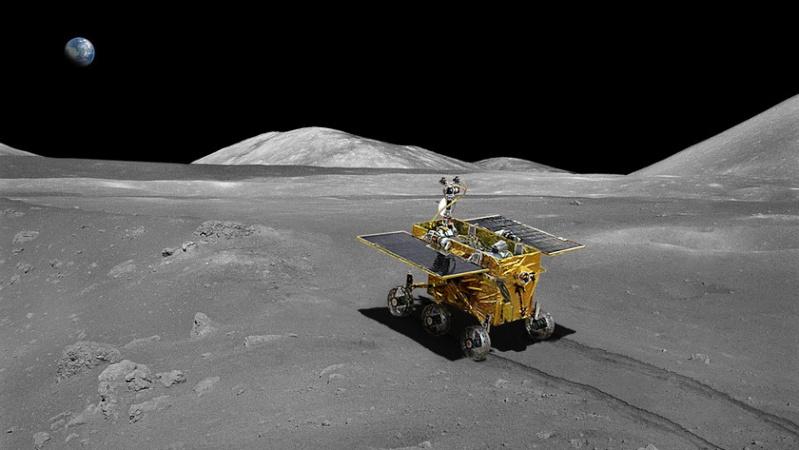 Chang e -3 - Mission Chang'e 3 (pré atterrisage) 20130110