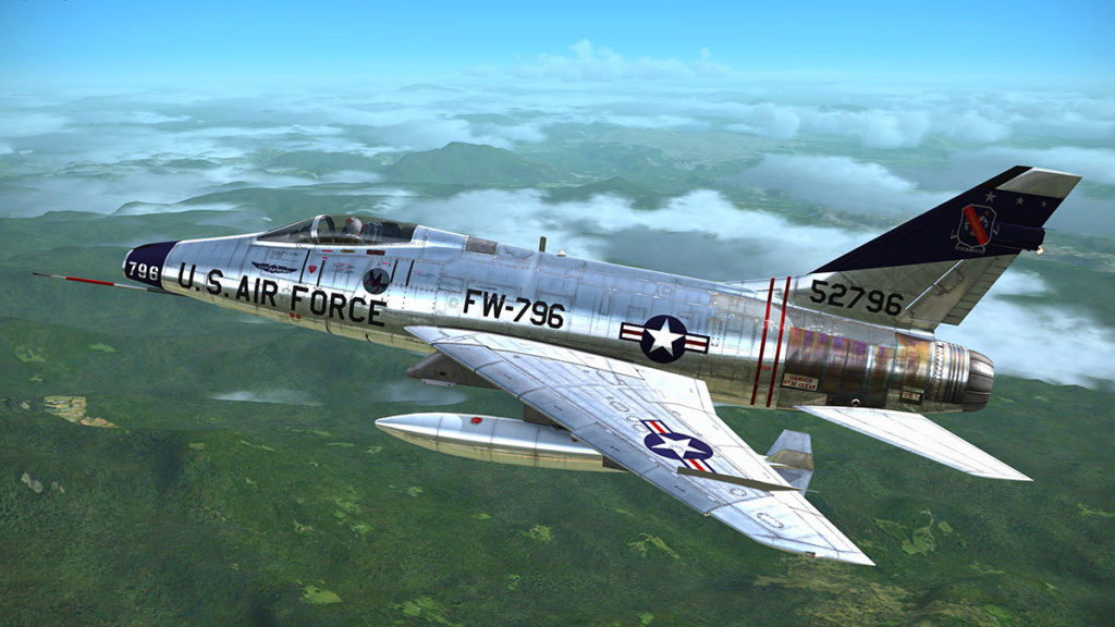 F-100 D (1/48° de Monogram) 2710