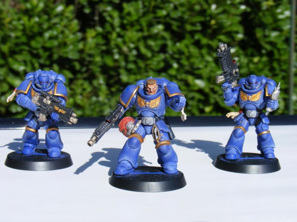 Figurines warhammer Space Marine Hachette Dscf8147
