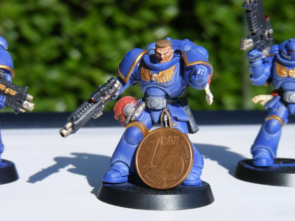 Figurines warhammer Space Marine Hachette Dscf8148