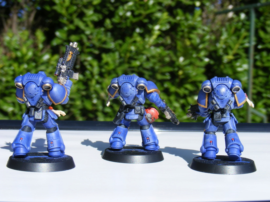 Figurines warhammer Space Marine Hachette Dscf8149