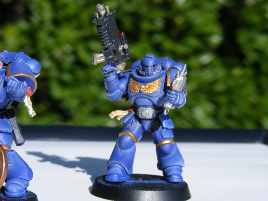 Figurines warhammer Space Marine Hachette Dscf8150