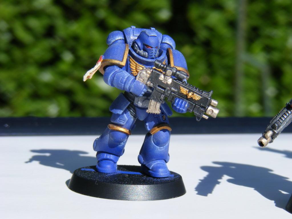 Figurines warhammer Space Marine Hachette Dscf8151