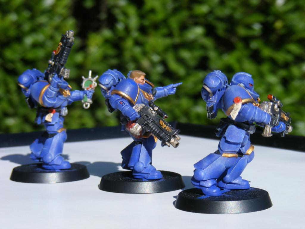 Figurines warhammer Space Marine Hachette Dscf8152
