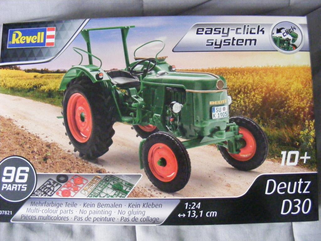 TRACTEUR DEUTZ D30 ( REVELL 1/24 ) Dscf8182